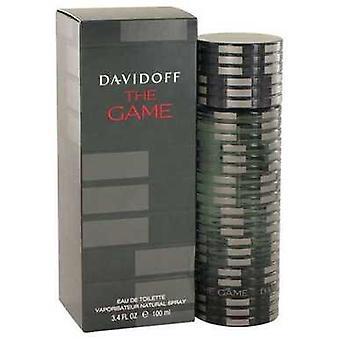 The Game av Davidoff Eau de Toilette spray 3,4 oz (menn) V728-501567