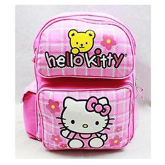 Medium Backpack - Hello Kitty - Teddy Bear School Bag Book Girls 81608