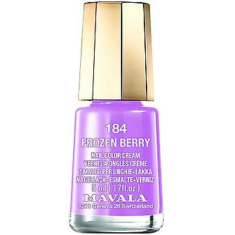 Mavala Mini Nail Color Creme Nail Polish - Frozen Berry (184) 5ml