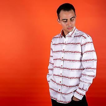 CLAUDIO LUGLI Flamingo Print Shirt
