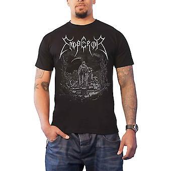 Emperor T Shirt Luciferian Band Logo new Official Mens Black