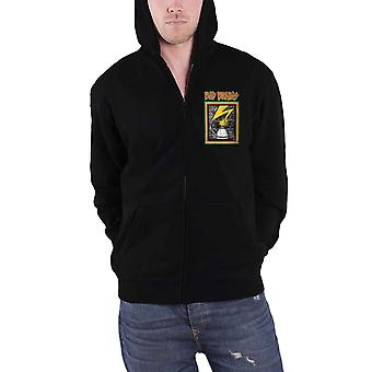 Bad Brains Hoodie Capitol Band Logo Punk new Official Mens Black Zipped