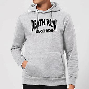 Death Row Records Label Hoodie - Grey