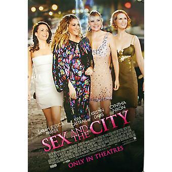 الجنس والمدينة (مزدوجة من جانب دوليّة عاديّة) أصليّة سينما ملصقة