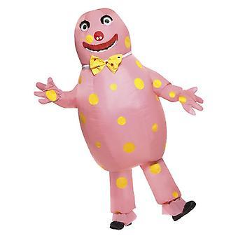 Mens opblaasbare heer Blobby Fancy Dress kostuum