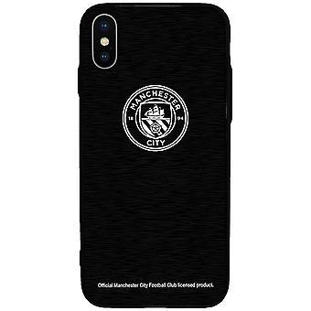 מנצ סיטי FC-IPhone X מקרה אלומיניום