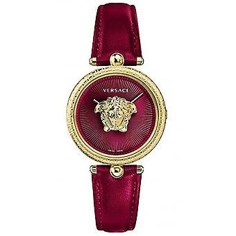 فيرساتشي ساعة اليد النسائية سوار الكوارتز الجلود VECQ00418
