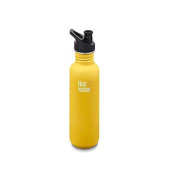 Klean Kanteen 800ml Classic Bottle SC Lemon Curry