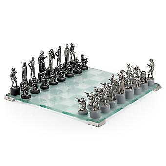 Star Wars By Royal Selangor 015502 Classic Chess Set