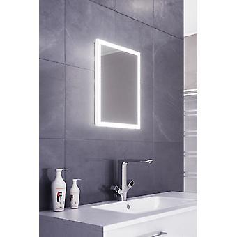 Cara Slimline Edge LED Bathroom Mirror With Demister Pad & Sensor k468