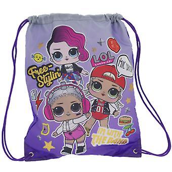 LoL Surpresa Nascido para Rock Trainer Bag (HD Glitter)