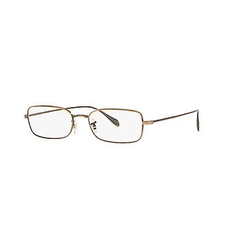 Oliver Peoples Aronson OV1253 5284 New Antique Gold Glasses