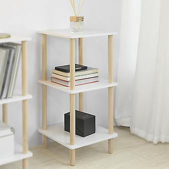 SoBuy 3 Tiers Lagerung Display Regal Rack Stehende Regal Einheit, STR02-K-WN