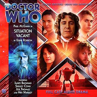 Situation Vacant by Alan Barnes & Read by Paul McGann