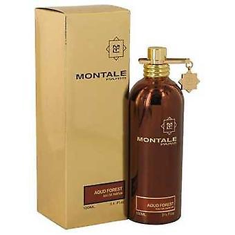 Montale Aoud bos door Montale Eau de parfum spray (unisex) 3,4 oz (vrouwen) V728-540114