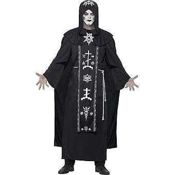 Темных искусств ритуального костюма, черный