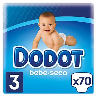 Dodot Diapers Size 3 of 4 -10 kg 70 Units (Baby & Toddler , Diapering , Diapers)