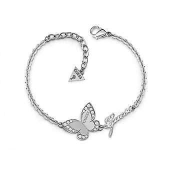 Armband antar kärlek FJÄRIL UBB78049 - armband stål cha ingen fjäril Crystal Swarovski kvinna