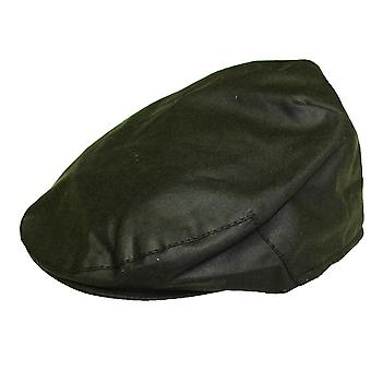 Mens Ladies Adult Classic Country Style Waxed Fabric British Made Flat Cap