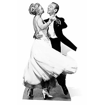 Fred Astaire and Ginger Rogers Lifesize Cardboard Cutout / Standee / Standup