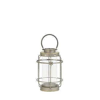 Light & Living Lantern 20.5x44cm Spinea Tin Bronze