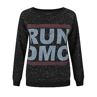 Amplified Run DMC Logo Women's Speckled Sweater