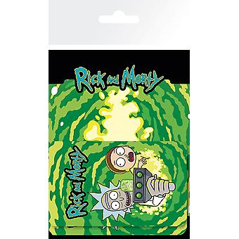 Rick and Morty Rick and Morty Luggage Card Holder