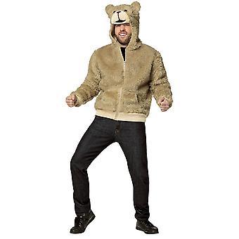 Adulte à capuchon d'ours