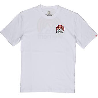 Element Men't-shirt ~ Sonata branco