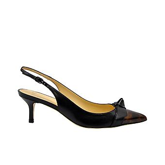 Alexandre Birman Pamblackturtle Women's Black Leather Pumps