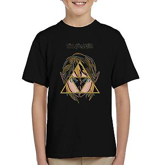 Link Triforce The Legend Of Zelda Kid's T-Shirt