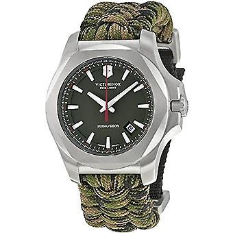 Victorinox 241727.1-Herren Armbanduhr, Stoff, Farbe: grün