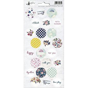 Piatek13 - Sticker sheet When we first met 03 P13-385 10.5x23 cm