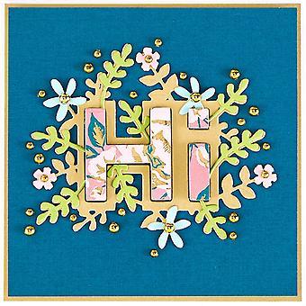 Spellbinders Shapeabilities Die D-Lites - Floral Hi
