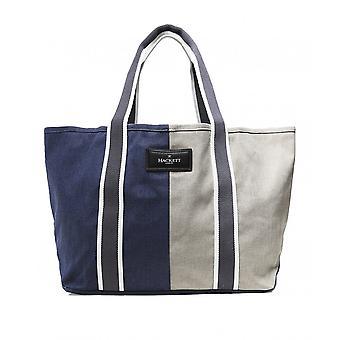 Hackett Colour Block Canvas Tote Bag