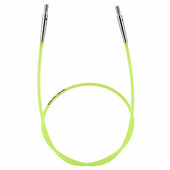 Kaapeli: Värikoodattu: Neon Vihreä: 35cm