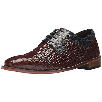 Stacy Adams Mens Garelli Leather Lace Up Dress Oxfords
