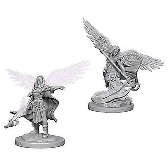 D&D Nolzur's Marvelous Unpainted Miniatures Aasimar Female Wizard (Pack of 6)