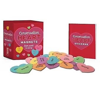 Conversation Heart Magnets - From Sweet to Sassy by Running Press - 97
