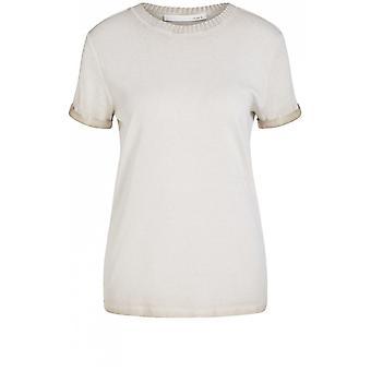 Camiseta de Oui Bege Jersey