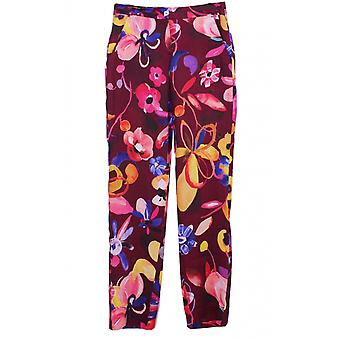 Backstage Bold Floral Print Trousers