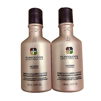 Pureology Pure Volume Travel Conditioner 2 OZ Set of 2