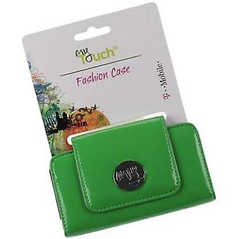 Green - Orignal HTC Leather Pouch Universal for iPhone, EVO Shift, Android, Thunderbolt