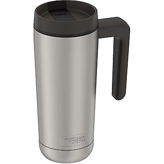 Thermos 18 oz. Vacuum Insulated Stainless Steel Mug - Matte Steel/Espresso Black