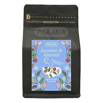Praana Tea - Black Tea With Jasmine Buds And Almond - 100g