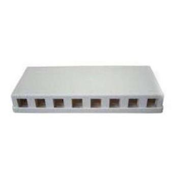 8 port Keystone Surface Mount Box