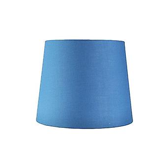 Mid Blue Cotton Table Lamp Shade