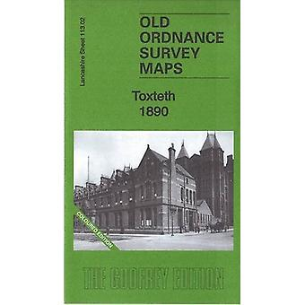 Toxteth 1890 - Lancashire Sheet 113.02a - Coloured Edition by Kay Parro