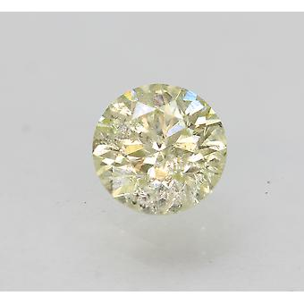 Certified 0.70 Carat J Color SI2 Round Brilliant Natural Diamond For Ring 5.56mm