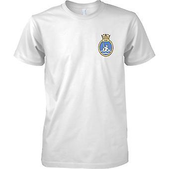 HMS Ocean - nuvarande Royal Navy fartyg T-Shirt färg